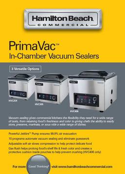 PrimaVac Catalog Page
